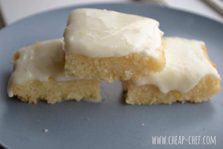 Cheap Chef - Easy Peasy Lemon Brownies Recipe