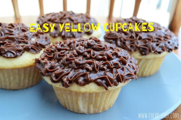 Easy Yellow Cupcake Recipe