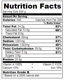 calories in olive garden zuppa toscana - Olive Garden Calories