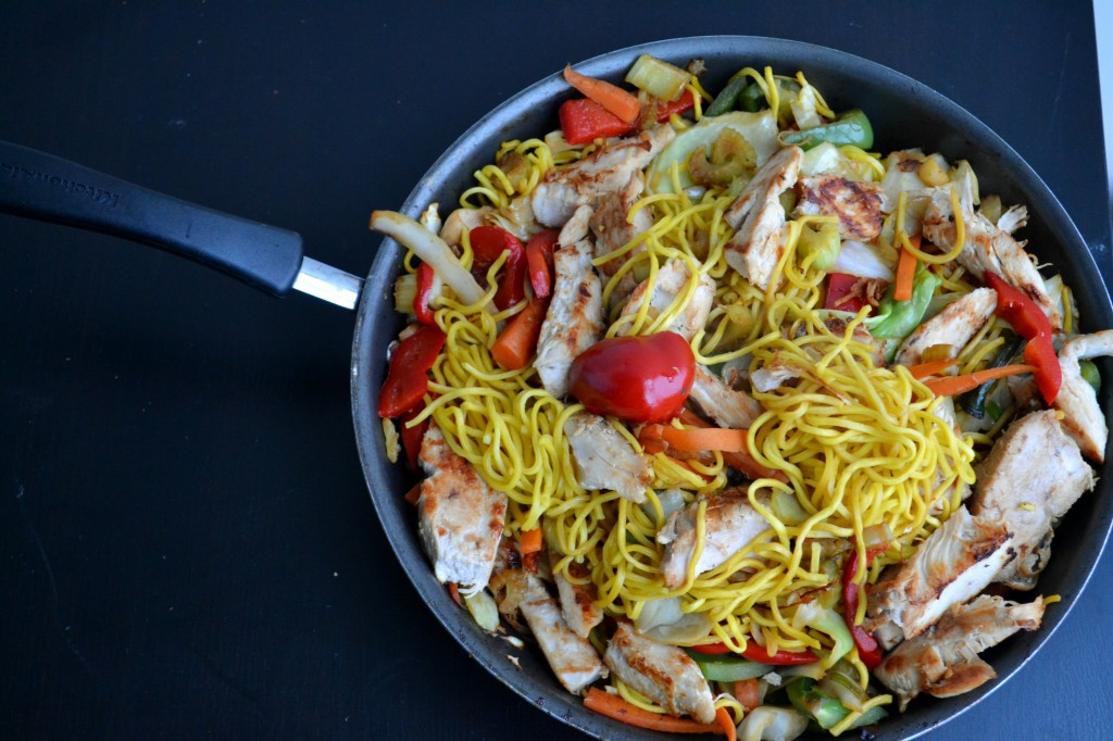Cheap and Easy Chicken Chow Mein
