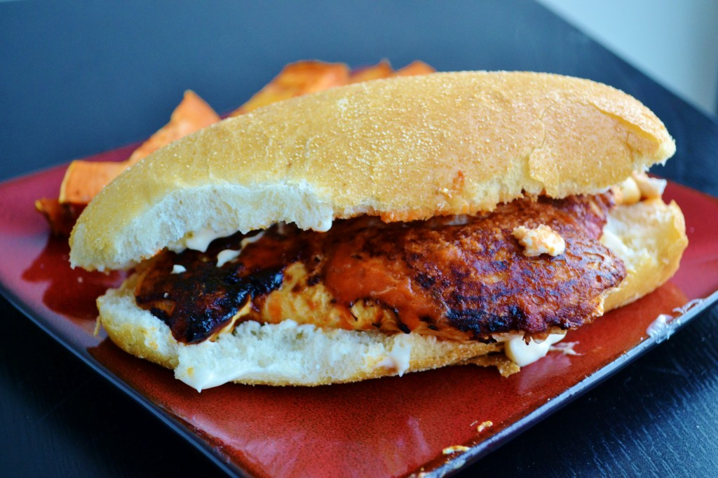 Spicy Chicken Sandwich Recipe