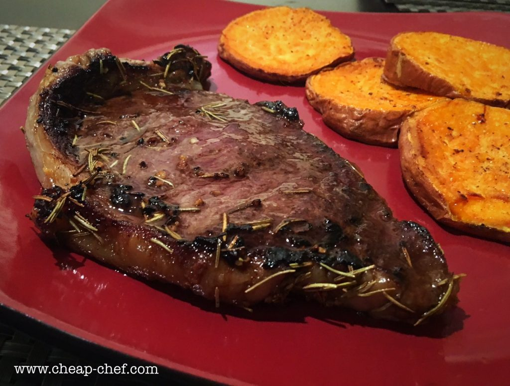 Simple Rosemary Steak Recipe