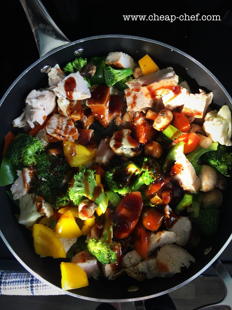 Cheap and Easy Chicken Stir Fry
