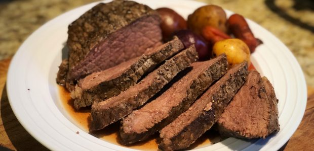 Slow Cooker Roast Beef – Easy!